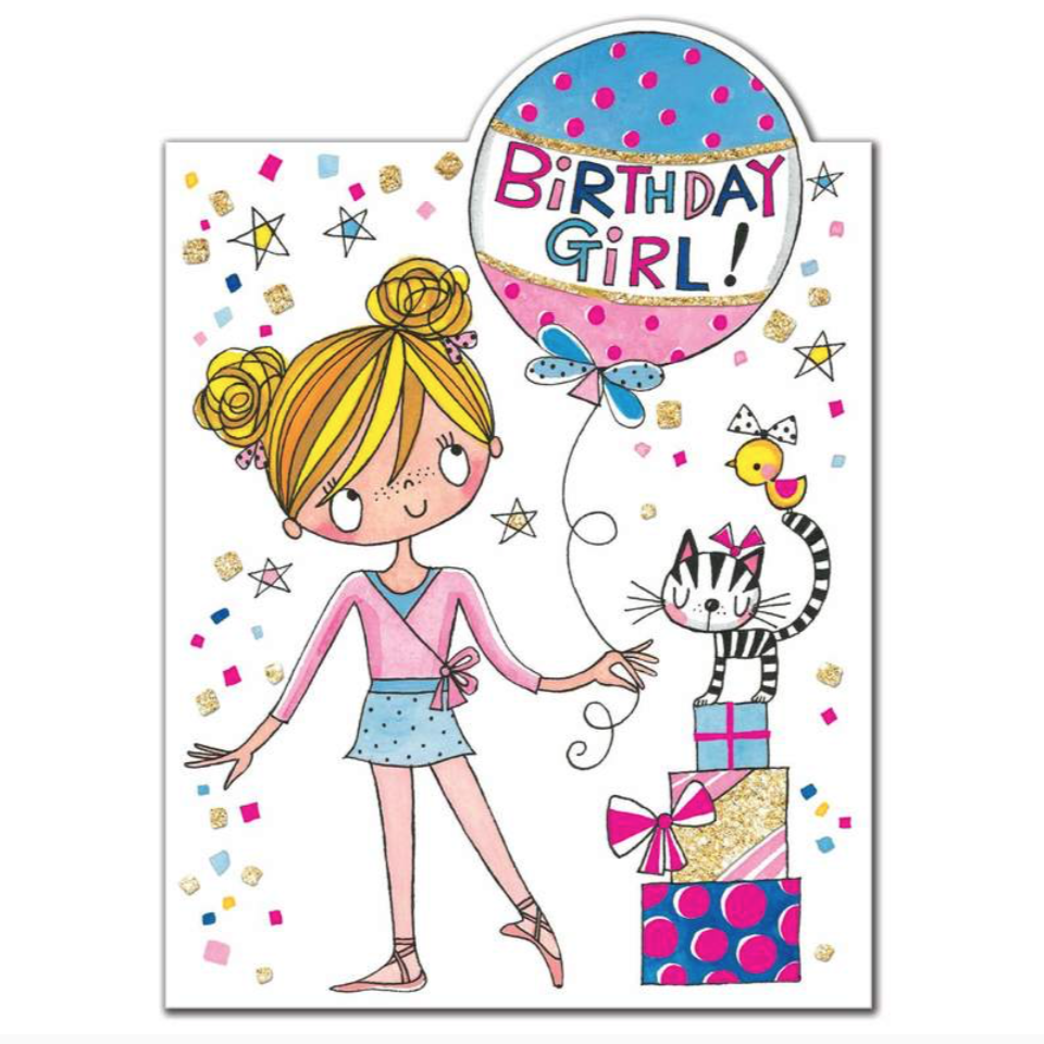 Rachel Ellen Birthday Girl Card