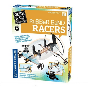 Geek & Co -Rubber Band Racers