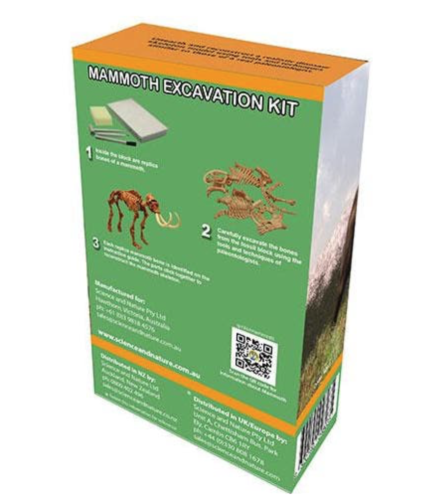Discover Science Mammoth Excavation Kit