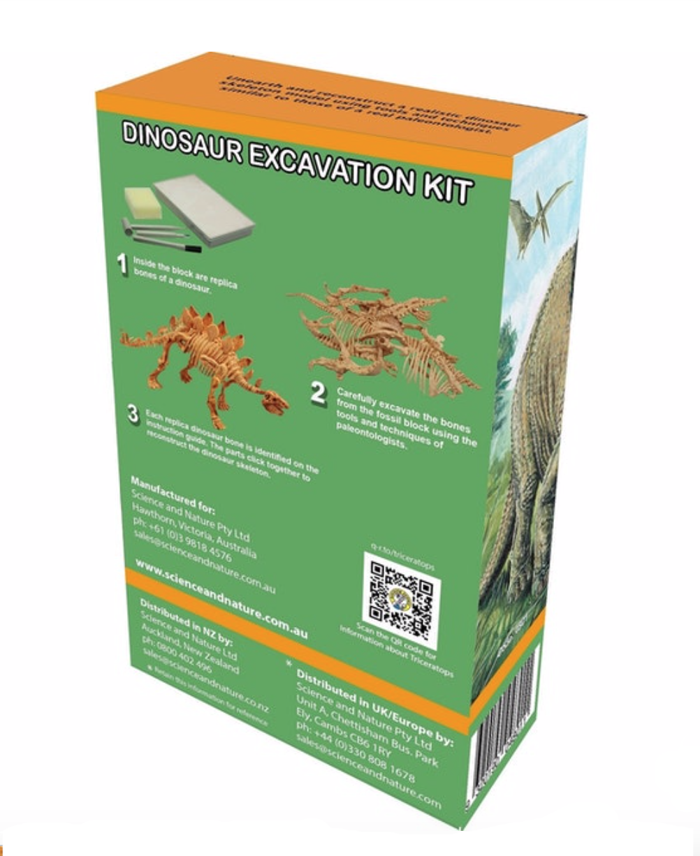 Discover Science Stegosaurus Excavation Kit