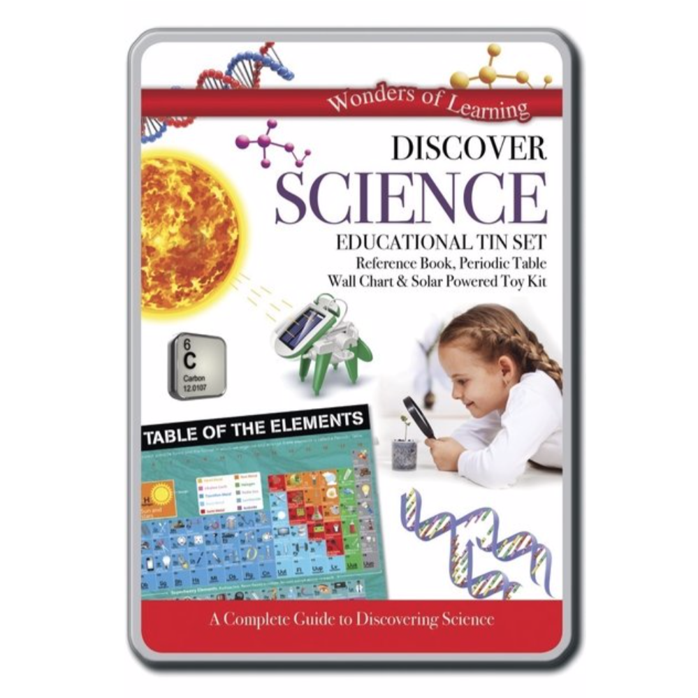 Discover Science Educational Tin Set