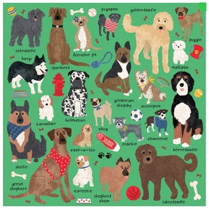Mudpuppy Doodle Dogs 500pc  Puzzle
