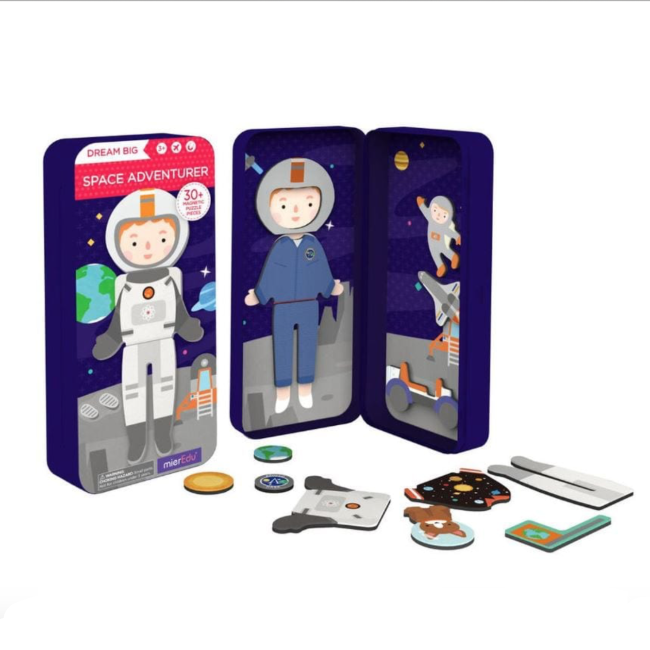 Dream Big Magnetic Puzzle Box Space Adventurer