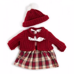 Miniland 38cm Dolls Clothes - Winter Dress