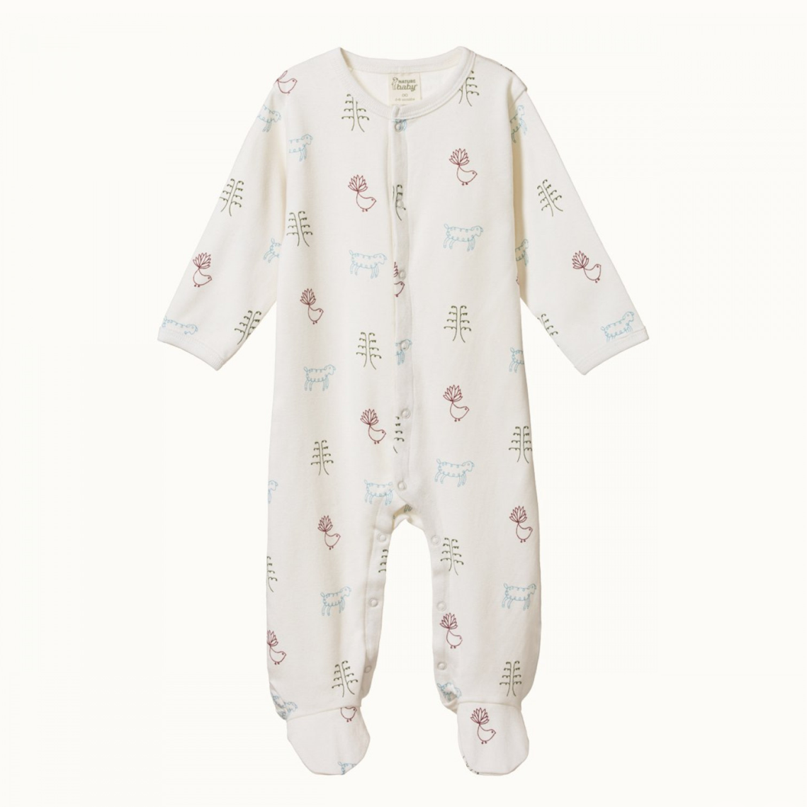 Nature Baby Stretch & Grow in Nature Baby Print