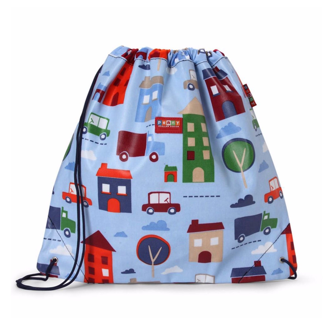 Penny Scallan Drawstring Bag - Big City