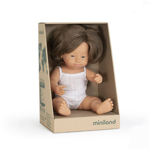 Miniland Doll 38cm Downs Syndrome Girl