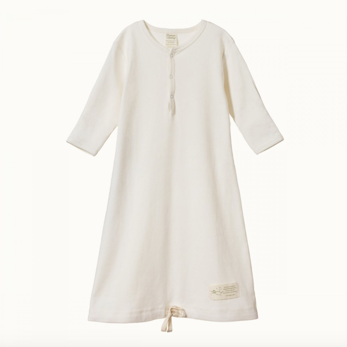 Nature Baby Gown -Natural