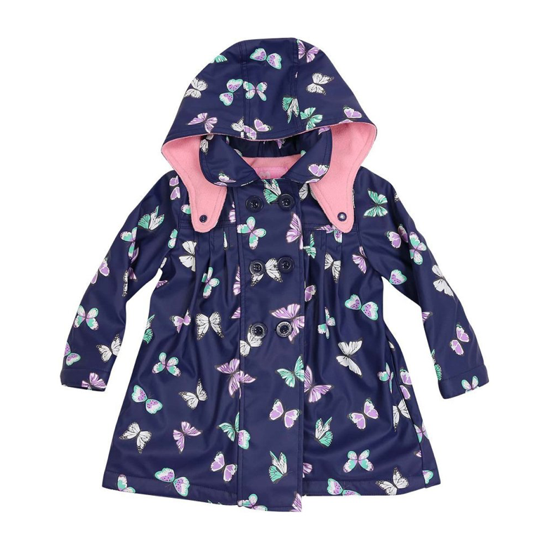 Korango Raincoat -Navy Butterfly
