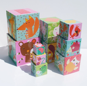 Djeco Stacking Blocks -Forest Animals