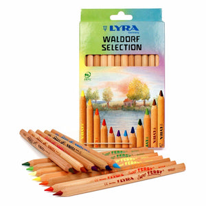 Lyra Waldorf Triangular Pencils