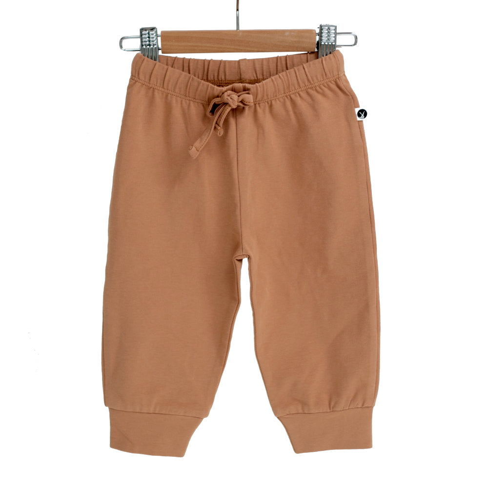 Burrow & Be -Baby Pants -Tawny Brown