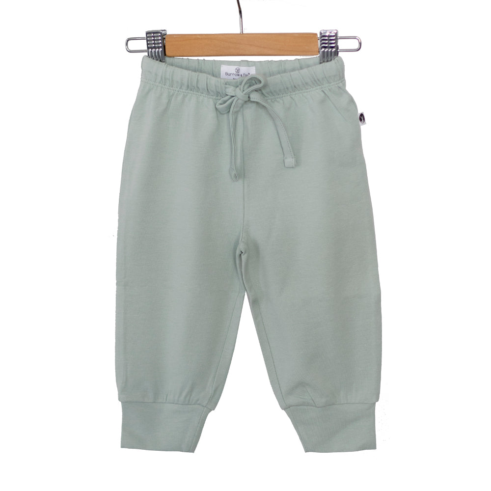 Burrow & Be -Baby Pants -Mist