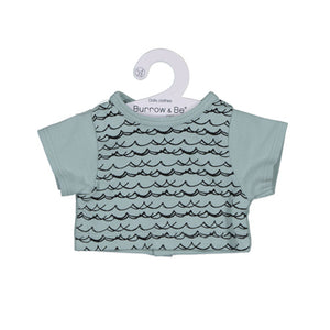 Miniland 38cm Dolls Clothes Waves Classic Tee