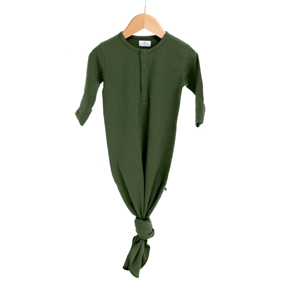Burrow & Be -Baby Sleep Gown -Pine