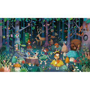 Djeco Observation Puzzle -Enchanted Forest