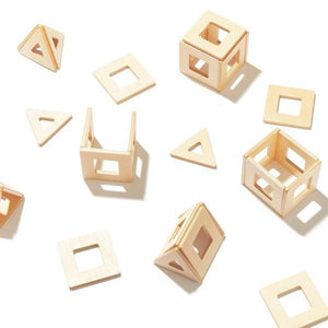 Earth Tiles - Wooden Magnetic Tiles