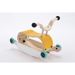Wishbone Mini-Flip Top Yellow