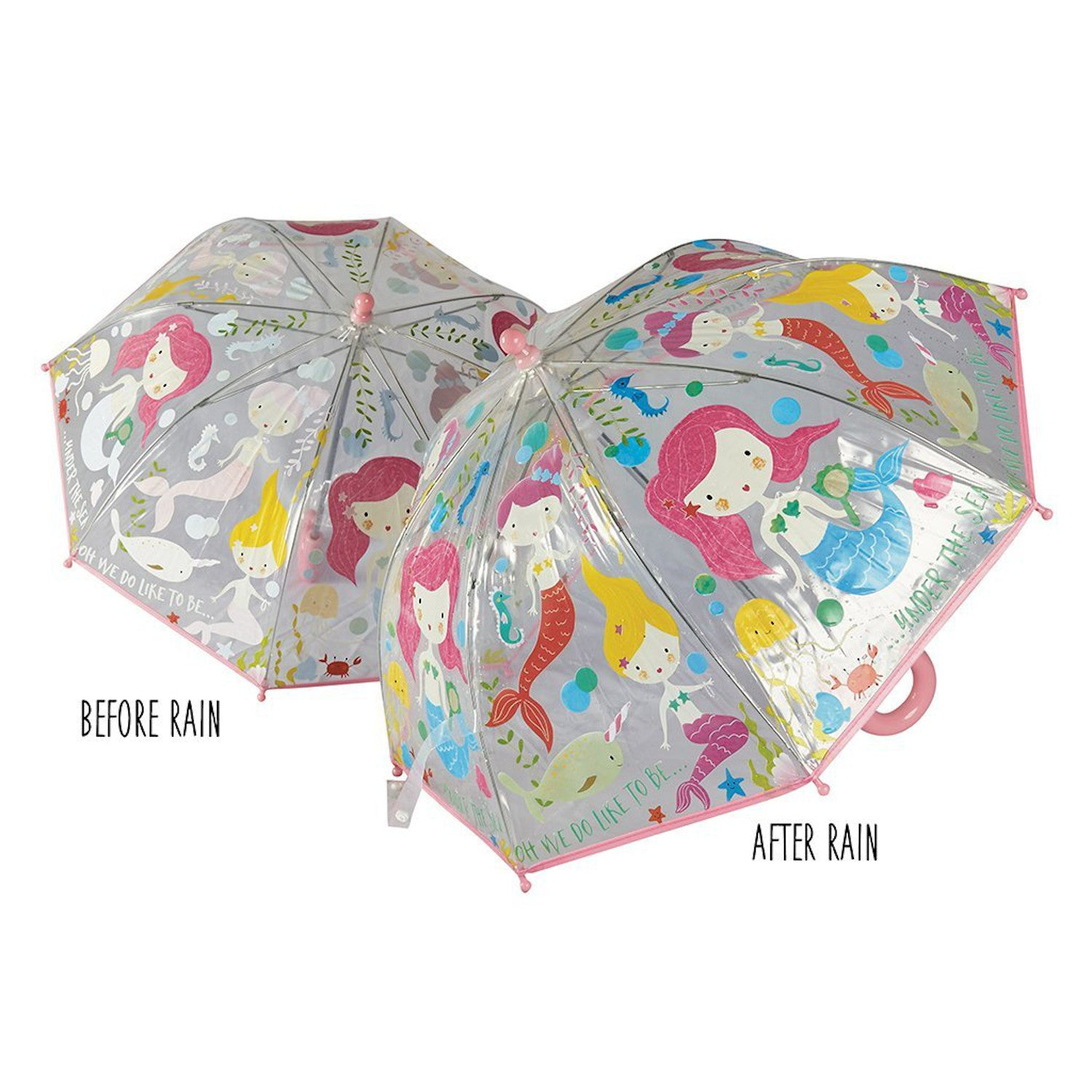 Floss & Rock Colour Changing Umbrella Mermaid