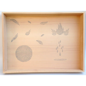 Grapat wooden box for free-play beautiful images to inspire natural play in children