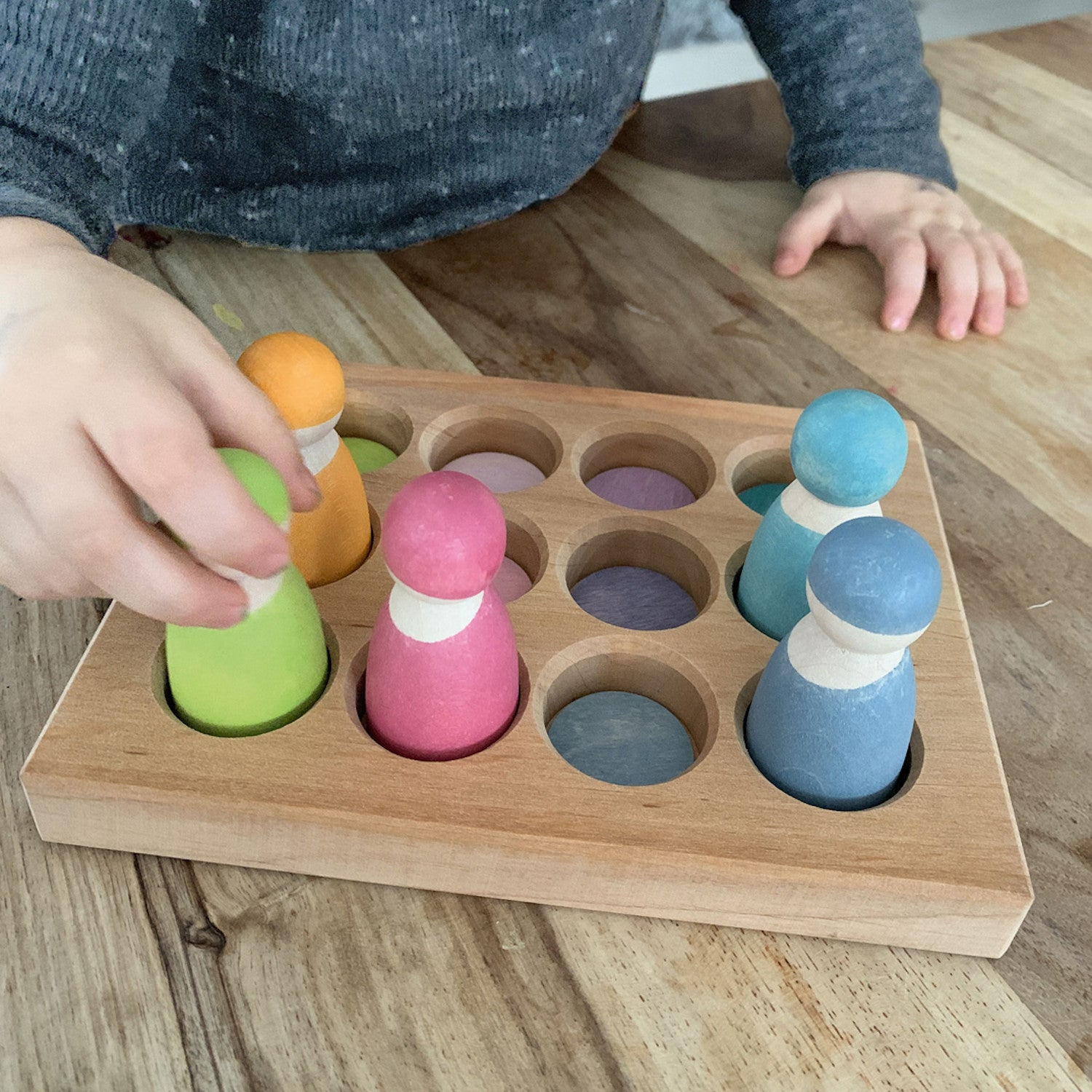 Grimm's Sorting Board – Pastel