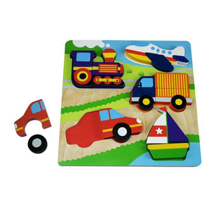 Chunky Transport Jigsaw Puzzle