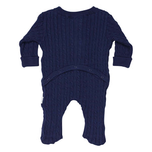 Korango Cable Knit Romper Navy