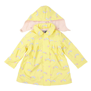 Korango Raincoat Shooting Star Lemon