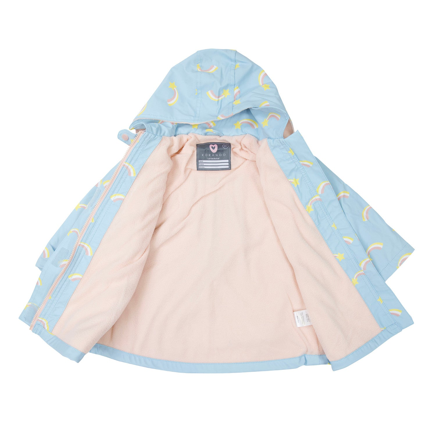Korango Raincoat Shooting Star Blue
