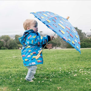 Korango Raincoat Vehicles Blue