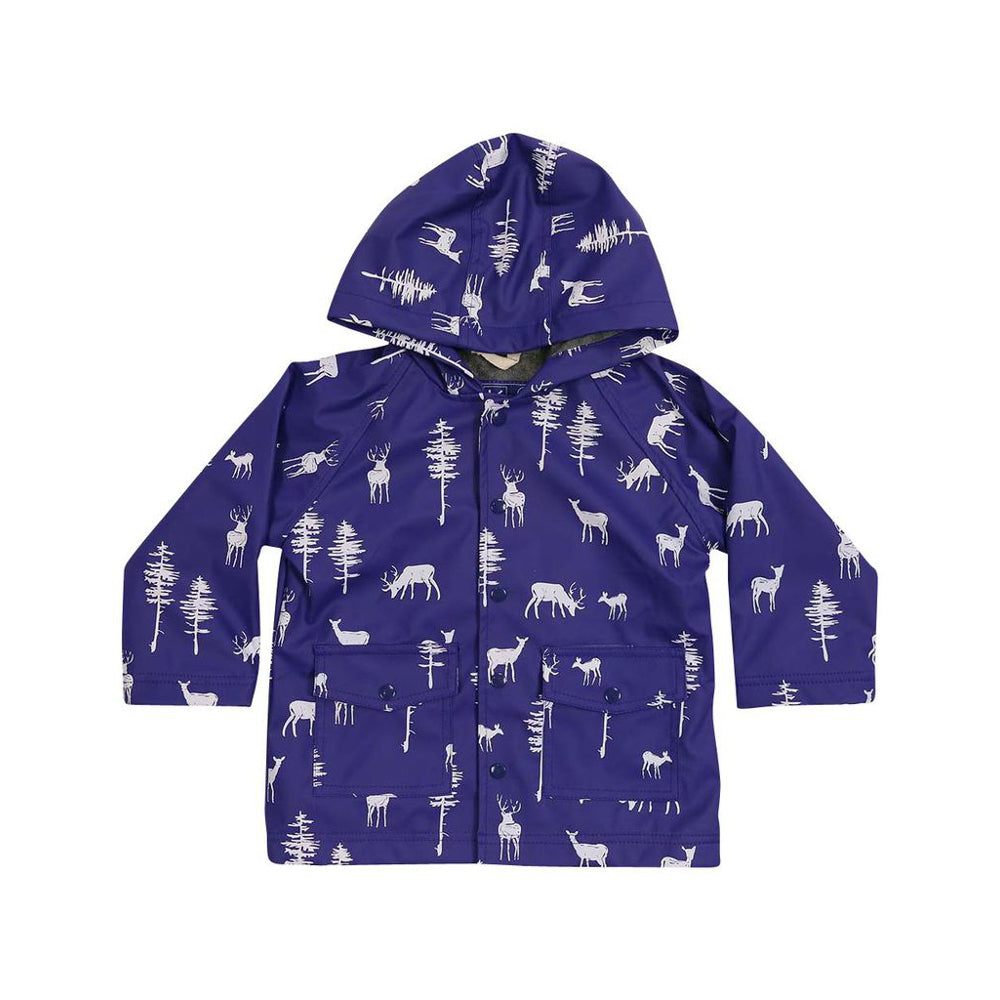 Korango Raincoat Stag Blue