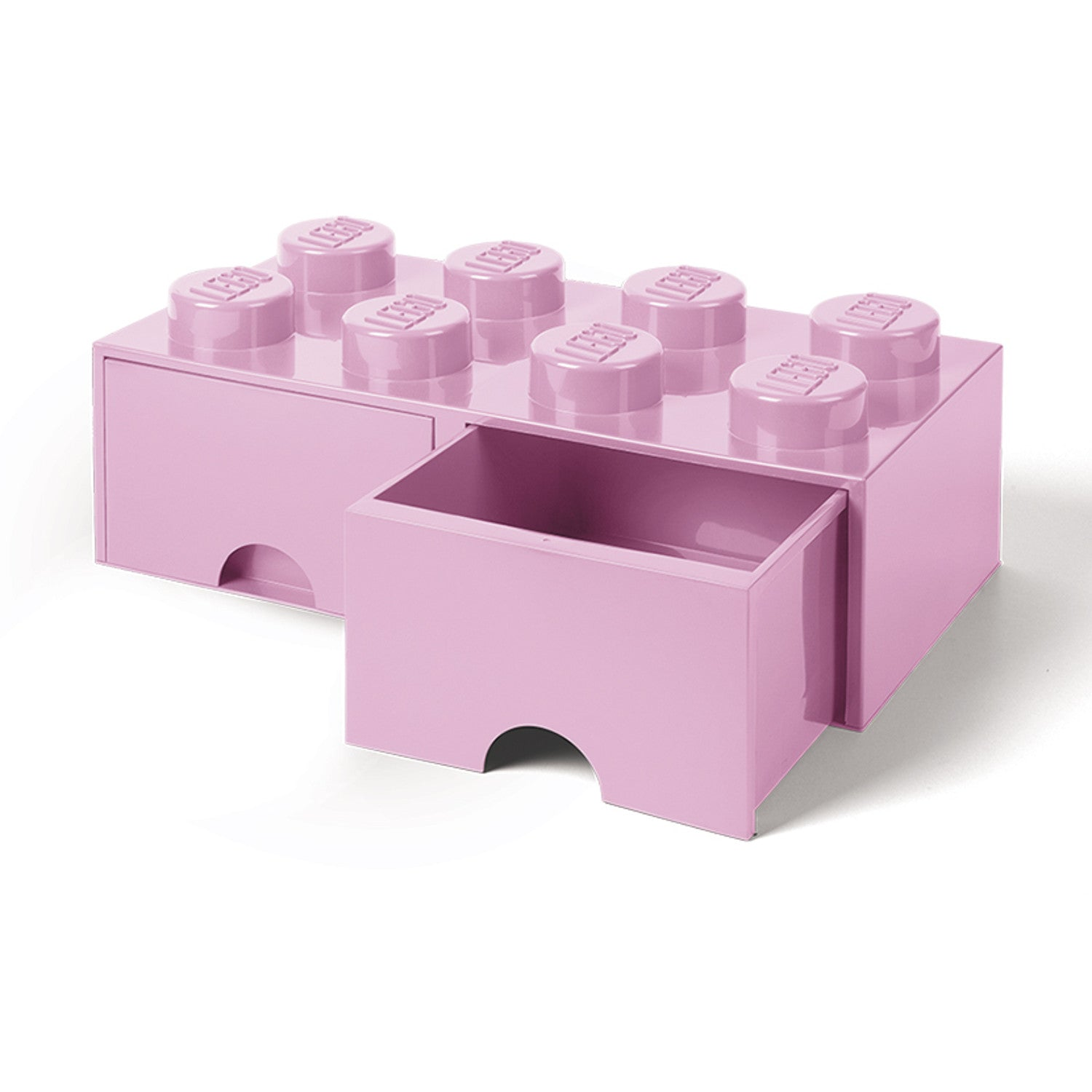 Superbe Lego Storage Brick Drawer 8 Pale Pink