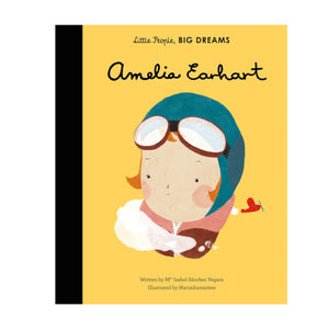 Little People Big Dreams Amelia Earhart Book