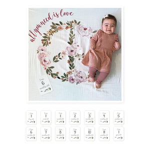 Lulujo Baby's First Year All You Need Is Love