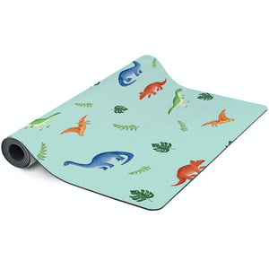 Mindful & Co Yoga Mat Dinosaur Print
