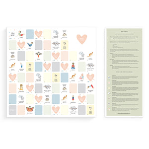 Mindful & Co Happy Hearts Board Game