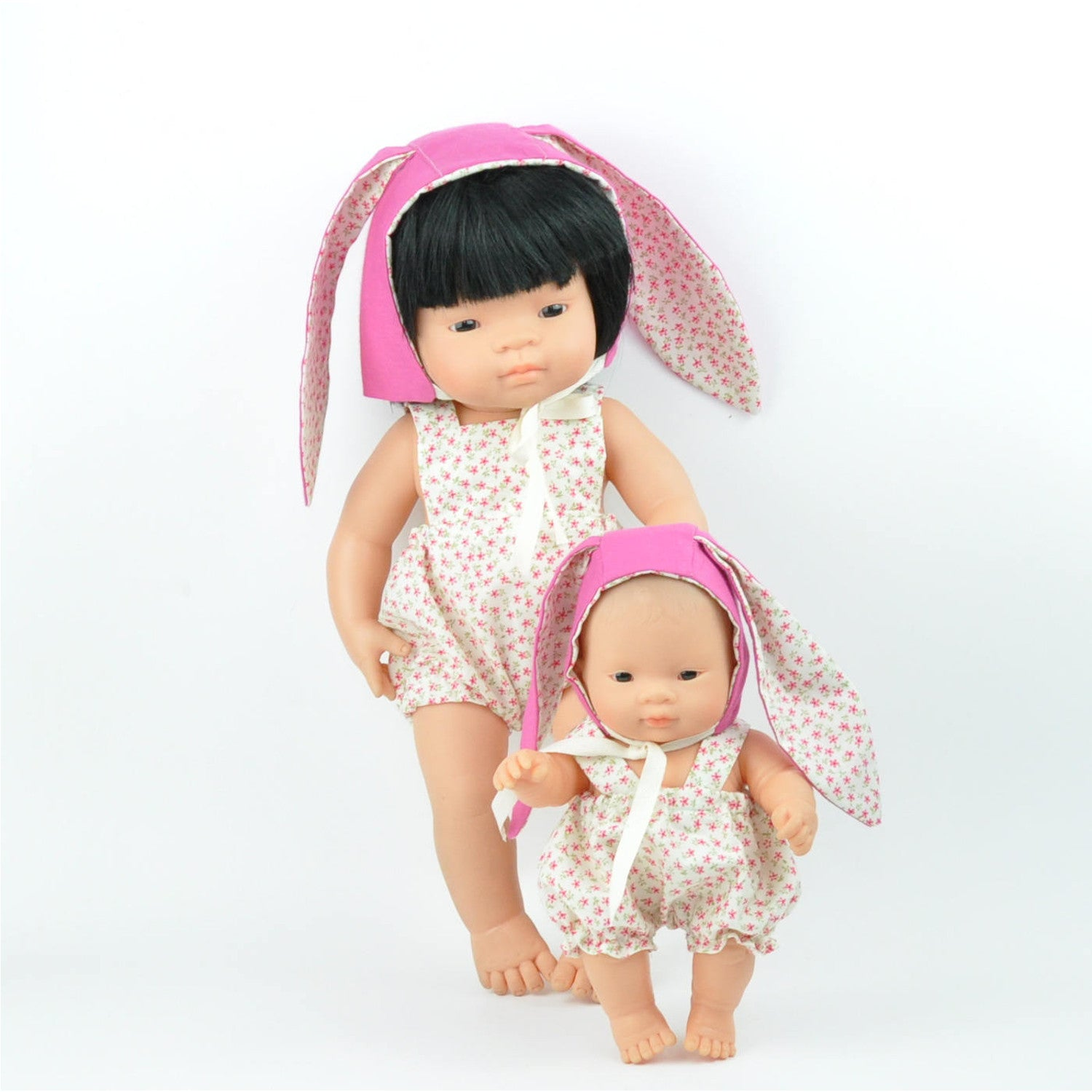 Monkey kids rotorua beautiful baby gifts stylish kids toys miniland 38cm dolls clothes easter floral romper with bunny ears bonnet negle Choice Image