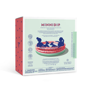 Minnidip Luxe Inflatable Pool Watermelon