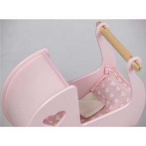 Moover Dolls Pram Bedding Pink