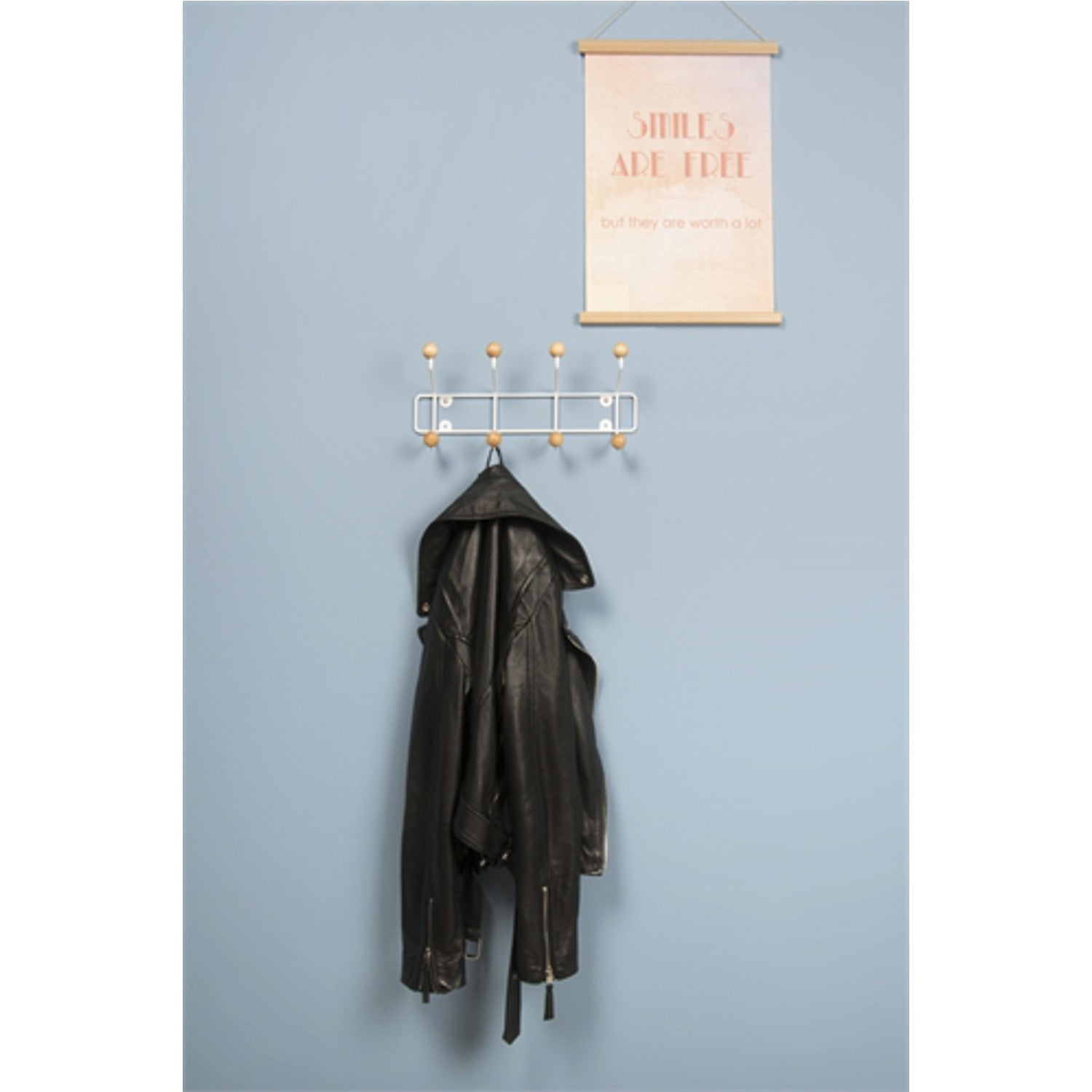 Saturnus Coat Rack -Natural