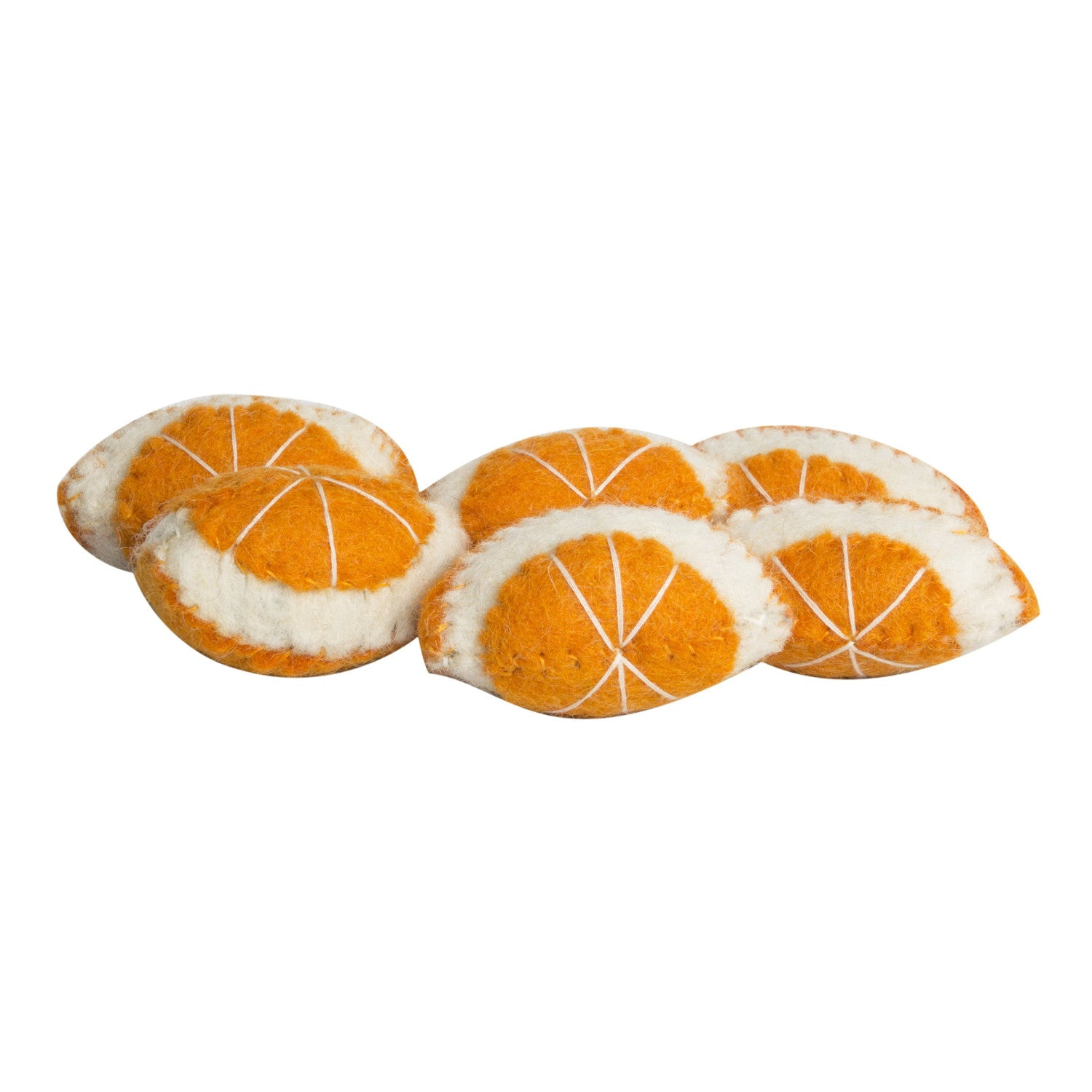 Papoose Felt Food Orange Segment