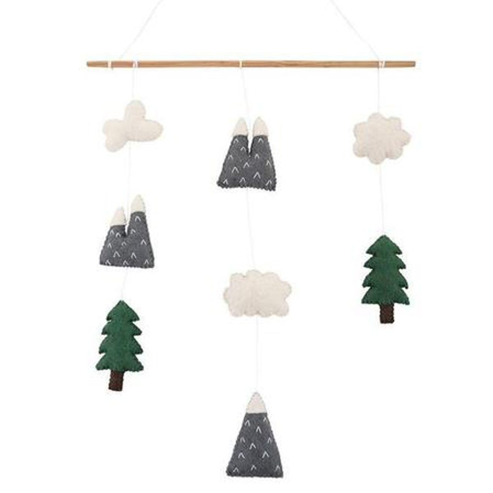Pashom Wall Hanging -Mountains & Clouds
