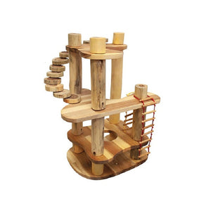 Q Toys Tree House Construction Set