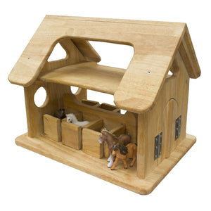 Q Toys Horse Stable