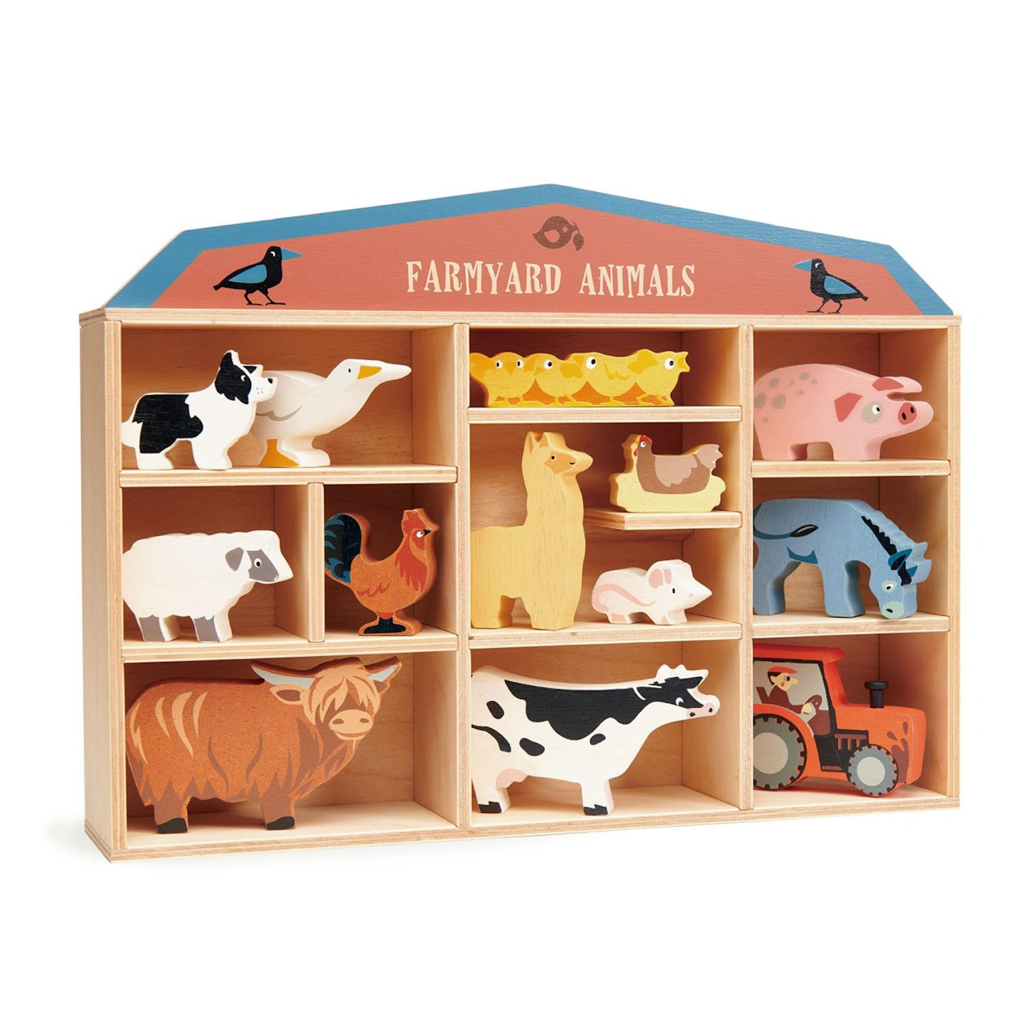 Tender Leaf Farmyard Animals Collection