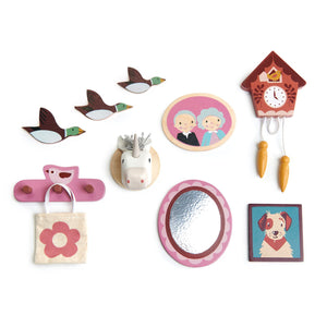 Tender Leaf Doll's House Wall Decor