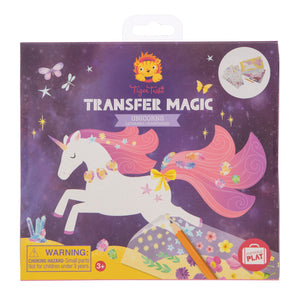 Tiger Tribe Transfer Magic -Unicorns