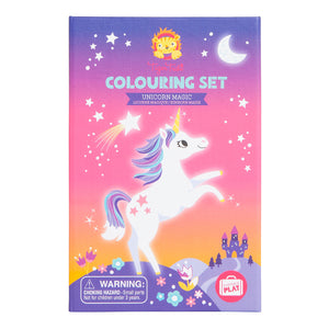 Tiger Tribe Colouring Set - Unicorn