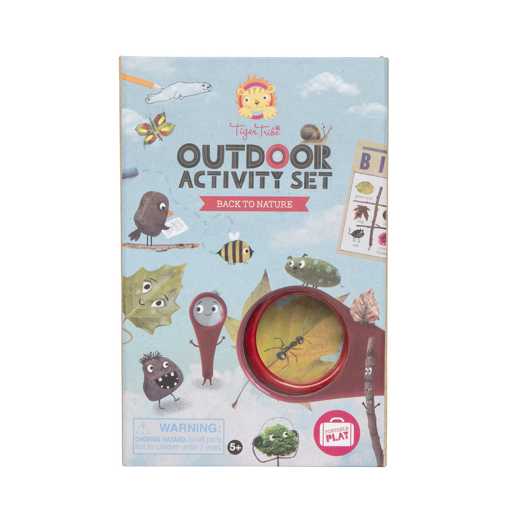 Tiger Tribe Outdoor Activity Set -Back to Nature