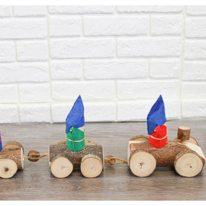 Q Toys Gnomes Log train
